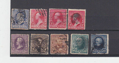 A very nice old United States 1894-95 group to 15 Cents