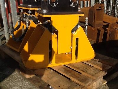 vibratory compactor for small excavator. Ideal For Narrow Trench Work.