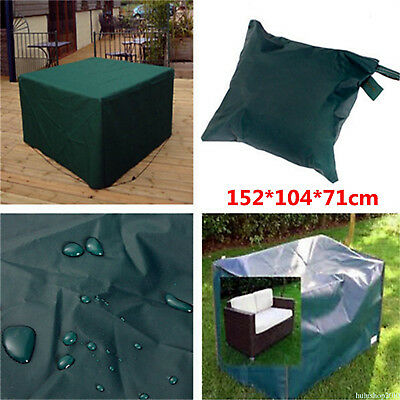 Waterproof Outdoor Furniture Cover Garden Patio Yard Table Chairs Storage QM6YP