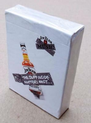Jim Beam Playing Cards, Collectors Edition 2006,Music.NEW.Drink / Alcohol / Bar.