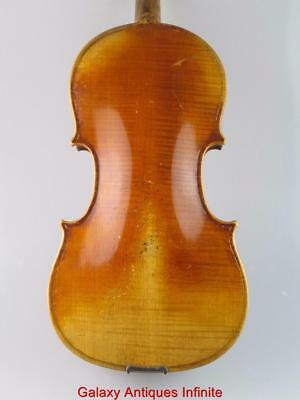 Antique 19th Century 4/4 Violin Antonius Straduarius Circa 1870