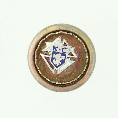 New Old Stock Knights of Columbus Pin Fraternal Society Small Lapel