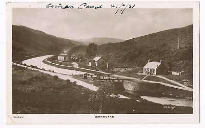 Cairnbaan - Lock 7 On Crinan Canal - Real Photo Posted 1921  - By Valentine's