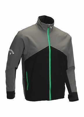 Callaway Golf Tour 2.0 Waterproof Jacket Castlerock Grey Large