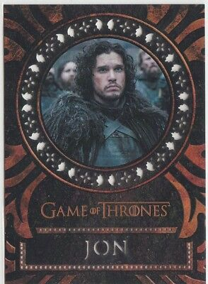 Game Of Thrones Valyrian Steel - Laser Cut Chase Card L4 Jon Snow