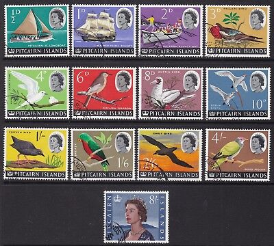 Pitcairn Is 1964-65 Definitive Set Fine Used, Cat £8