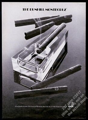 1973 Montecruz cigar photo Alfred Dunhill London vintage print ad