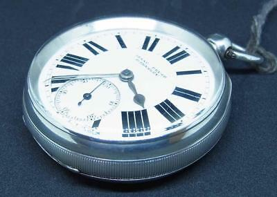 A English Silver Cased Isaac Pryor Open Faced Pocket Watch Ref Whit270
