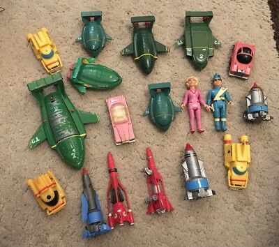 Bundle Of Thunderbirds Vehicles