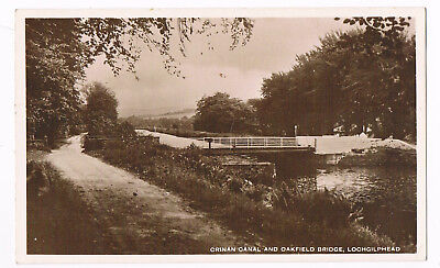 Lochgilphead - Oakfield Bridge On The Crinan Canal - Real Photo C.1920