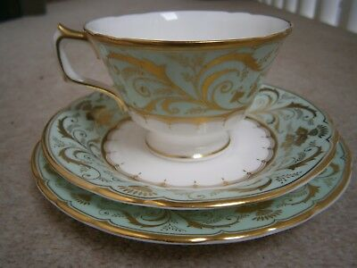 Gorgeous Royal Crown Derby Darley Abbey Tea Cup & Saucer & Side Plate New Unused
