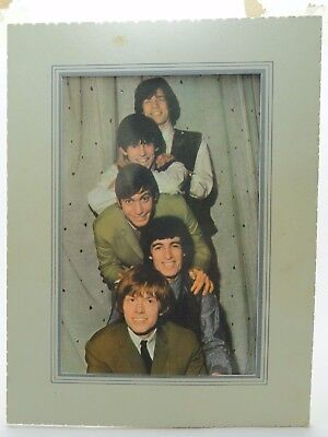 Vintage Rolling Stones Photograph Excel Press 1964