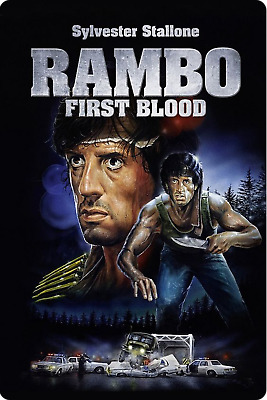 """RAMBO FIRST BOLOOD  movie poster fridge magnet 3.5"""" X 2.5"""""""