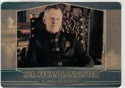 Game Of Thrones Valyrian Steel - Gold Parallel Metal Base Card 64 (079/100)