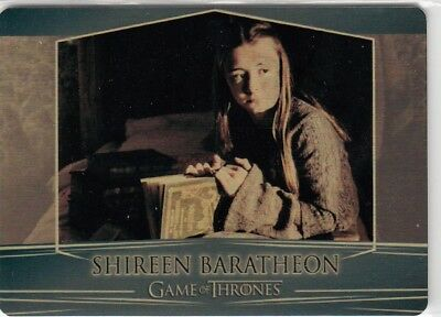 Game Of Thrones Valyrian Steel - Gold Parallel Metal Base Card 74 (081/100)