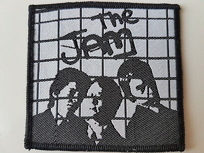 The Jam Vintage Woven Patch Paul Weller Mod Mods Punk Rock New Wave Scooter
