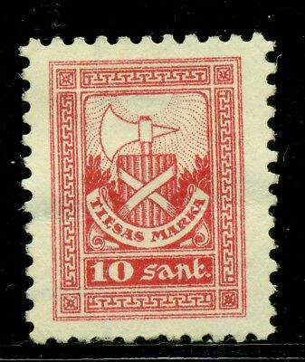 Latvia Court Fees Revenue: 10s Rose Red MNG SEE SCAN $$$