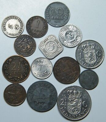 WCA 14 Coins From Netherlands 1884 - 2010 Lot # 99