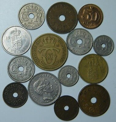 WCA 14 Coins From Denmark 1924 - 1993 Lot # 55