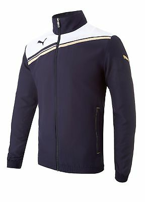 Puma King Full Zip Jacket Navy/White Small