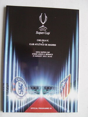 Chelsea v Atletico Madrid 2012 Super Cup