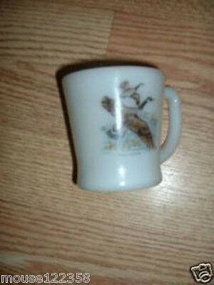 Vintage Fire-king Mug or Cup D handle Canada Goose