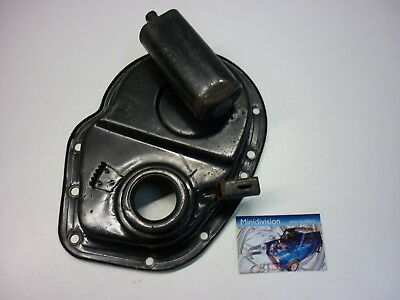 Classic Mini Genuine A+ Series 1275cc Engine Timing Chain Cover Flat Breather