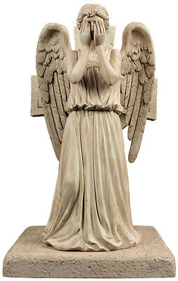 "DOCTOR WHO - Weeping Angel 8"" Polyresin Bookend (Ikon Collectables) #NEW"
