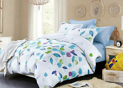 Queen/King/SuperKing Size Bed Duvet/Doona/Quilt Cover Set New Ar M320 LEAVES