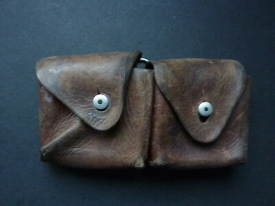 192? Dated Swiss Ammo Pouch With Two Stripper Clips