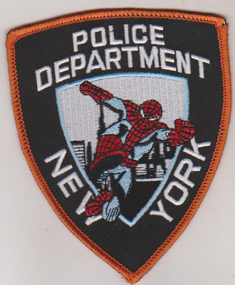 New York Police Spiderman patch
