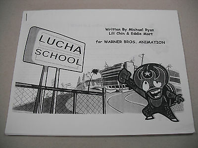 "Animation/cartoon Series Sales Pitch & Series Outline For ""lucha School""!"