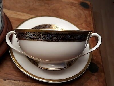 Royal Doulton Harlow Soup Cup Saucer Nr