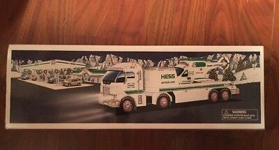 2006 Hess Toy Truck and Helicopter - Free Ship/Never Played With