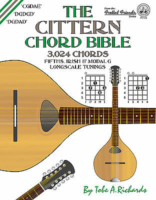 Cittern Longscale Chord Bible - 3,024 Chords (New 2016 Edition)
