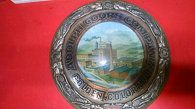 Vintage Adolph Coors Beer Large Bar Pub Ale Sign 1973 Colorado Factory Brewery