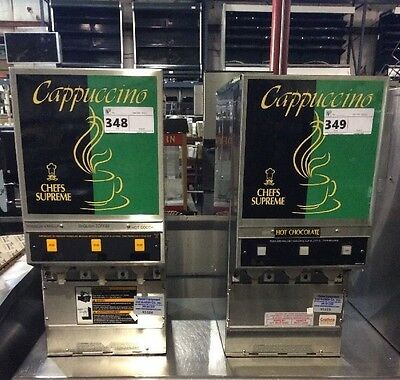 Grindmaster Pic3 3 Flavor Powdered Specialty Cappuccino Hot Chocolate Machine