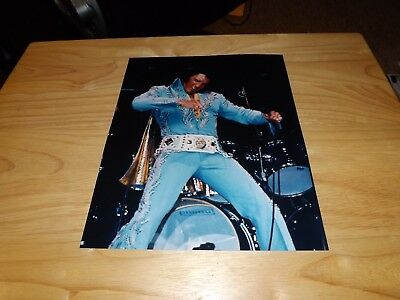 Elvis Presley  Photo - 8X10 -  Madison Sq Garden- 6-10-72 Aft Show