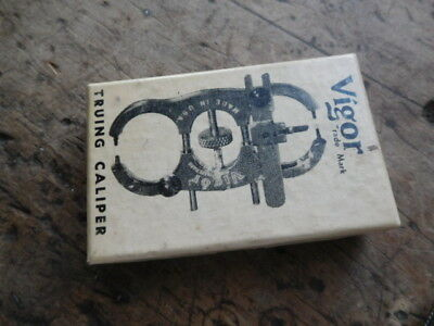 Old  Vintage Jewelers Watchmakers  Vigor Truing Caliper No.703 in Box Tool