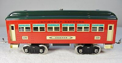 MTH 10-5022 or 10-5090 Christmas Express #339 Donner Passenger Coach - C8
