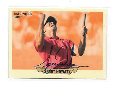 2010 Upper Deck SPORT ROYALTY Tiger Woods ON CARD AUTO #SRA-TW GORGEOUS