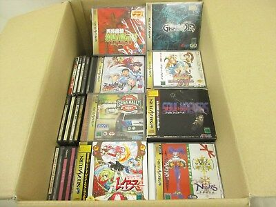 WHOLESALE SEGA SATURN Lot of 100 FREE Shipping 10212ss