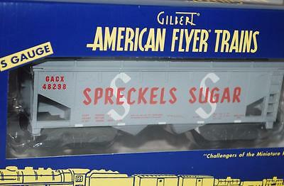 American Flyer 2012 TCA Rocky Mountain Spreckels Sugar 2-Bay Hopper 6-48298 GREY