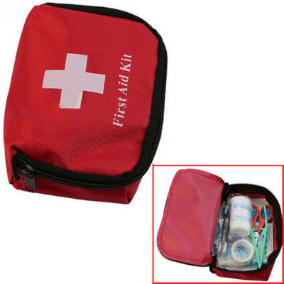 Outdoor Hiking Camping Survival Travel Emergency First Aid Kit Rescue Bag New