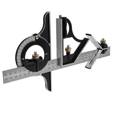 Useful Measuring Combination Square Angle Finder Ruler Straight Edge Combo Gauge