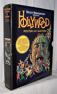 Bruce Hershenson HOLLYWOOD POSTERS AT AUCTION Christie's 1990-1994 6+ Volume set