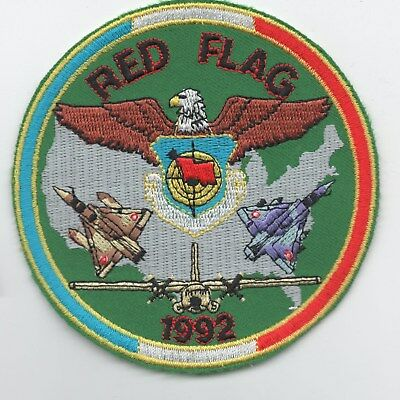French Air Force Red Flag 1992 patch, Mirage 2000, C-160