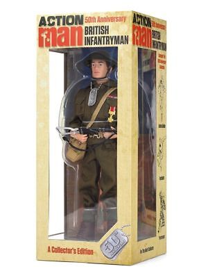 ACTION MAN 50th ANNIVERSARY BRITISH INFANTRYMAN AMT716 NEW In Stock