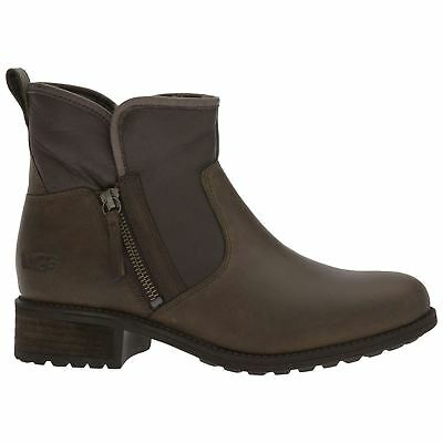 Ugg Australia Lavelle Stout Womens Leather Winter Ankle Boots