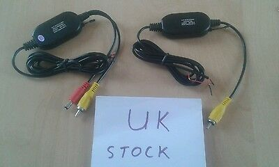Wireless Video Transmitter / Reciever Set, Reverse Camera